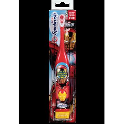 Детская автоматическая зубная щетка Ironman