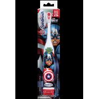 Детская автоматическая зубная щетка Capitan America