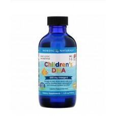 ДГК для детей 1–6 лет, 530 мг, 119 мл Nordic Naturals