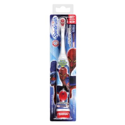 Детская автоматическая зубная щетка Spiderman